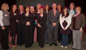 RWA committee members joined by Kate Dickie, Bafta Award winning actress, and Fred MacAulay, radio presenter and comedian