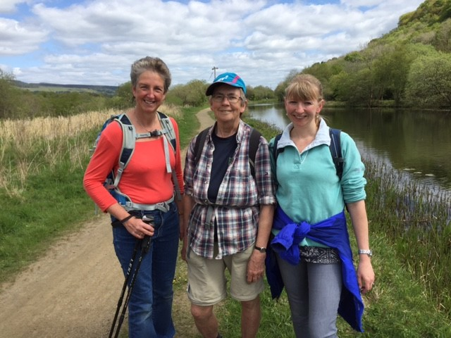 The Women's Fund take on the Caledonian Challenge
